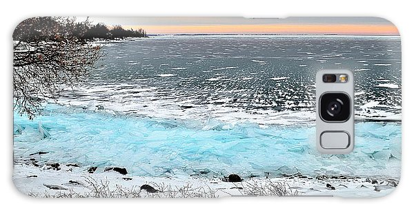 Panorama Freeze - Horsey Bay - Kingston - Canada Galaxy Case
