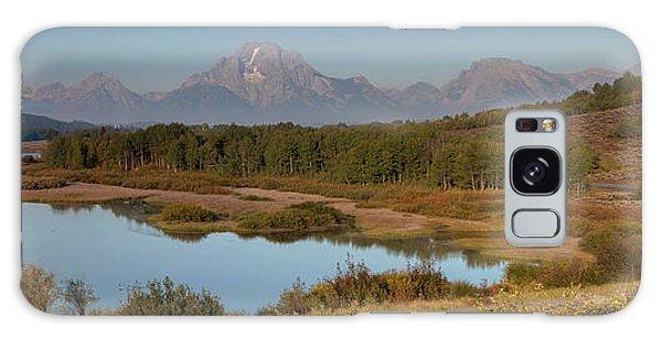 Ecosystem Galaxy Case - Panorama Horseshoe Bend Grand Teton by Tom Norring