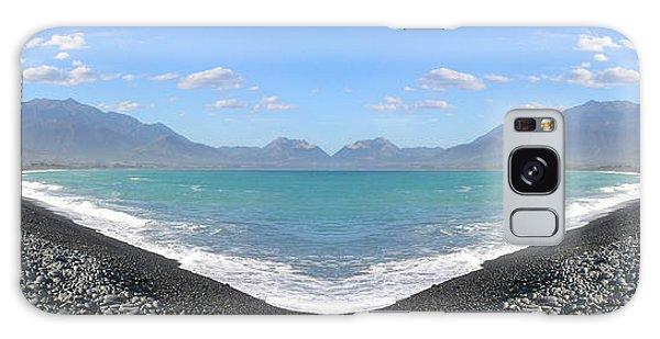 Panorama Lake Galaxy Case