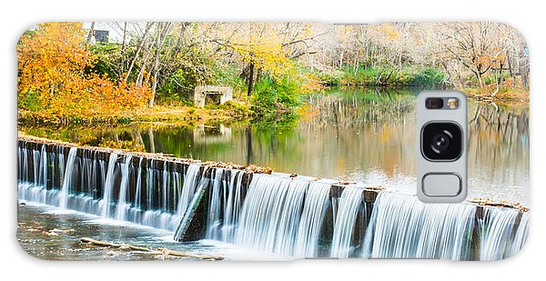 Panorama Of Buck Creek In Autumn Galaxy Case by Parker Cunningham