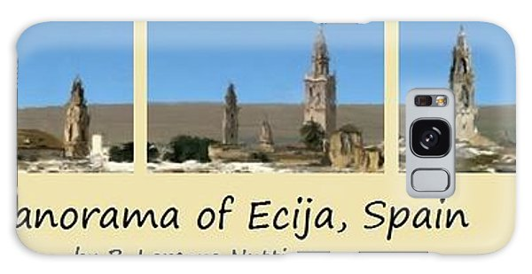Panorama Of Ecija Spain Galaxy Case