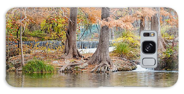 Panorama Of Guadalupe River In Hunt Texas Hill Country Galaxy Case