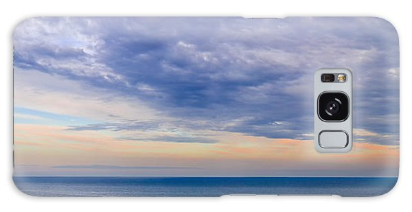 Ocean Sunset Galaxy S8 Case - Panorama Of Sky Over Water by Elena Elisseeva