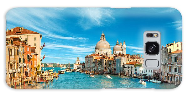 Panorama Of The Basilica Santa Maria Della Salute Galaxy Case