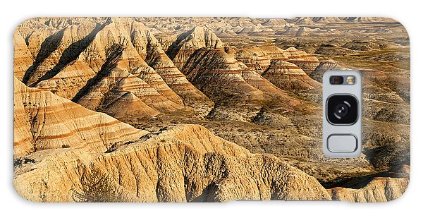 Panorama Point Badlands National Park Galaxy Case