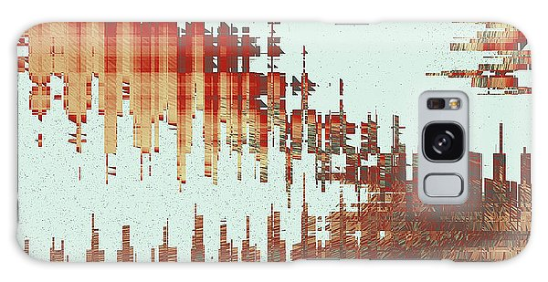 Panoramic City Reflection Galaxy Case
