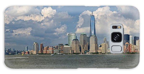 Panoramic Of New York City Galaxy Case