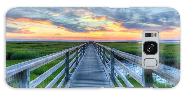 Panoramic View Bass Hole Boardwalk Galaxy Case