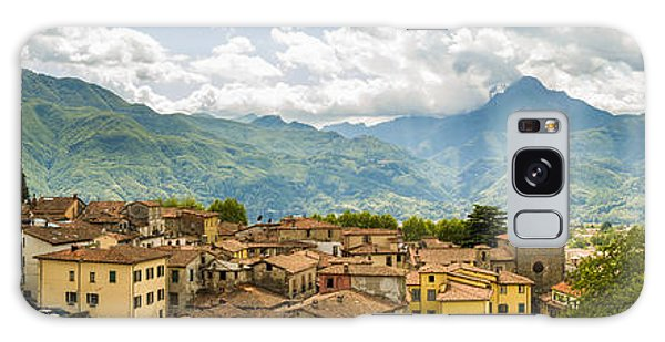 Panoramic View From Barga In Italy Of The Appeninies Galaxy Case