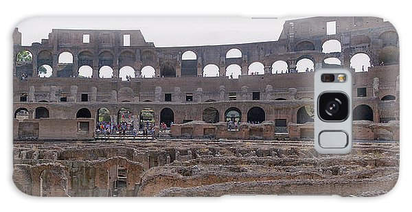 Panoramic View Of The Colosseum Galaxy Case by Allan Levin