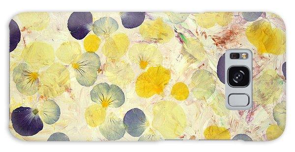 Petal Galaxy Case - Pansy Petals by James W Johnson