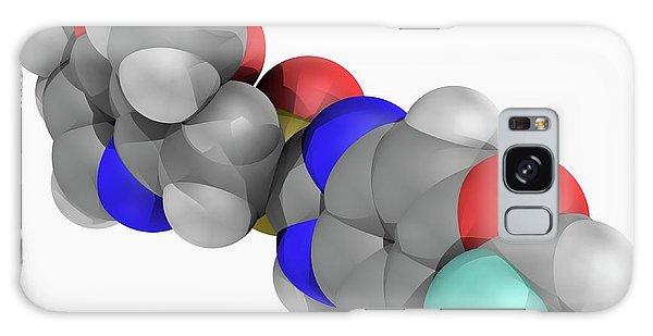 Scientific Illustration Galaxy Case - Pantoprazole Drug Molecule by Laguna Design/science Photo Library