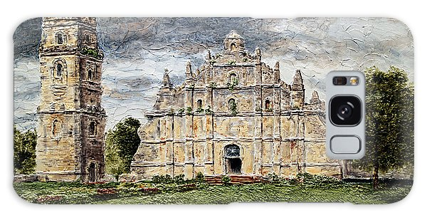 Paoay Church Galaxy Case