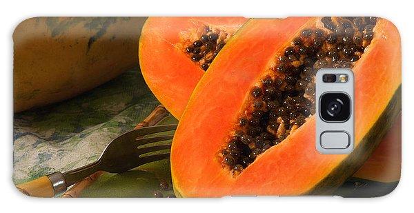 Papaya Galaxy Case