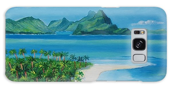 Papeete Bay In Tahiti Galaxy Case