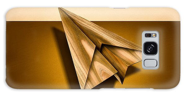 Paper Airplanes Of Wood 1 Galaxy Case by YoPedro