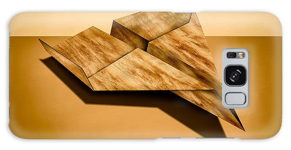 Paper Airplanes Of Wood 5 Galaxy Case by YoPedro