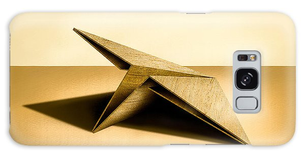Paper Airplanes Of Wood 7 Galaxy Case by YoPedro
