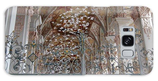 Paper Birds Flying Galaxy Case by Linda Prewer