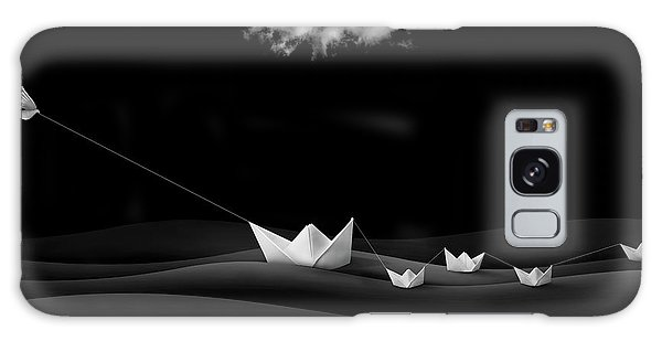 Dove Galaxy S8 Case - Paper Boats by Sulaiman Almawash