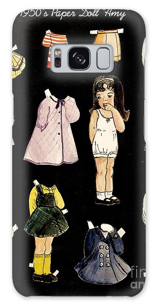 Paper Doll Amy Galaxy Case