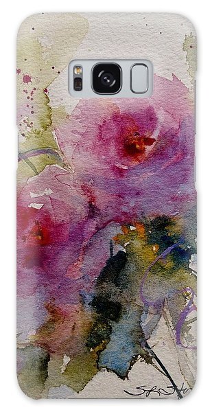 Paper Roses Galaxy Case