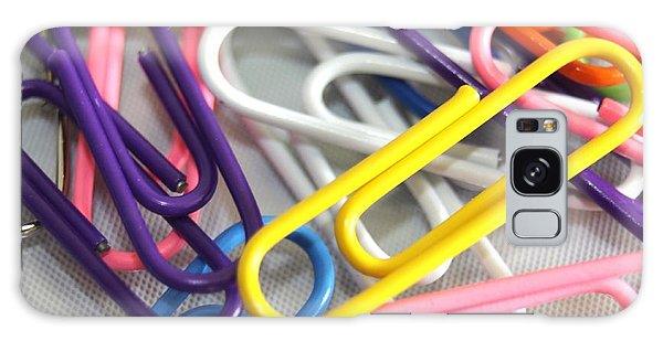 Paperclips Galaxy Case
