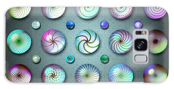 Paperweights And Marbles Galaxy Case