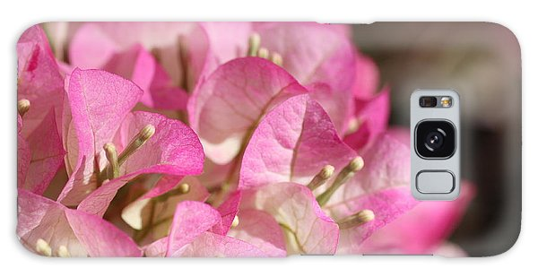 Papery In Pink Galaxy Case by Cathy Dee Janes