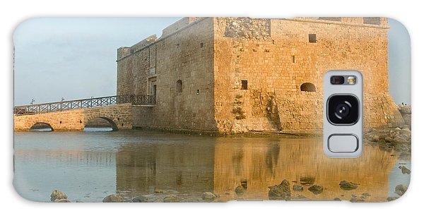 Paphos Harbour Castle Galaxy Case by Jeremy Voisey