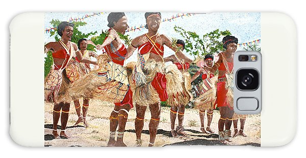 Papua New Guinea Cultural Show Galaxy Case
