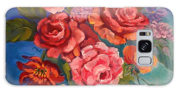 Parade Of Roses 11 Galaxy Case