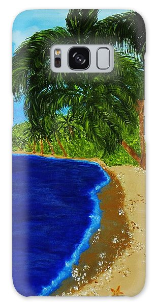 Paradise Galaxy Case by Celeste Manning