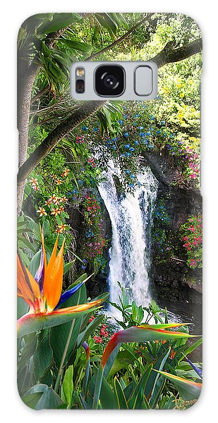 Paradise Falls Galaxy Case by Doug Kreuger