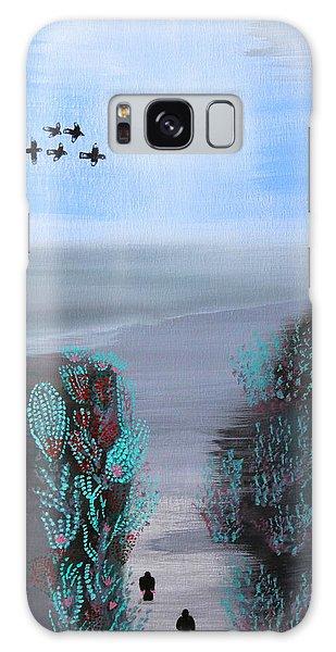 Paradise Galaxy Case by Lorna Maza