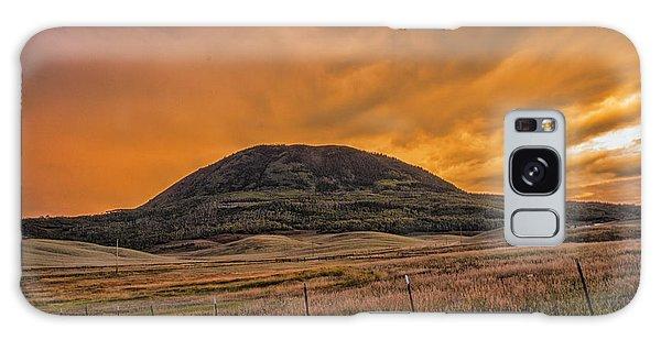 Paradise On Elk Mountain Meadows Galaxy Case by Daniel Hebard