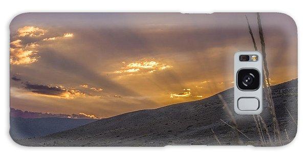 Desert Sunset Galaxy S8 Case - Paramount by Jeremy Jensen