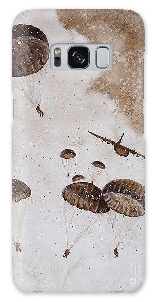 Paratroopers Galaxy Case by Zaira Dzhaubaeva