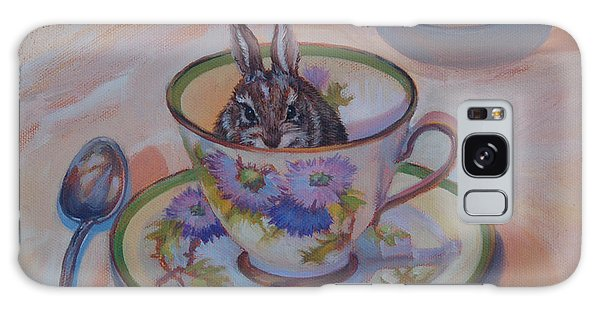Pardon Maam There Seems To Be A Hare In My Tea Galaxy Case