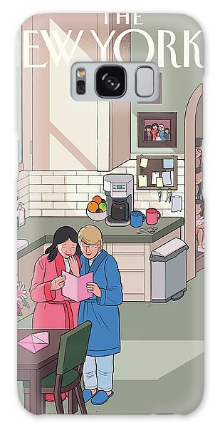 Woman Galaxy Case - Mothers' Day by Chris Ware