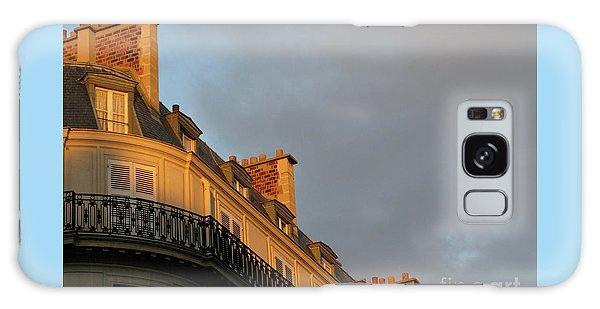 Paris At Sunset Galaxy Case by Ann Horn