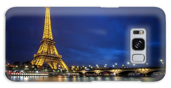 Paris Blues Galaxy Case