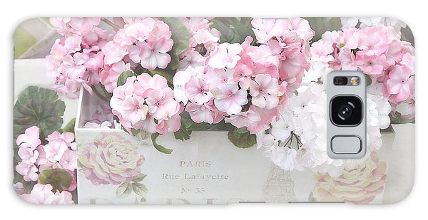 Paris Dreamy Romantic Cottage Chic Shabby Chic Paris Flower Box Galaxy Case