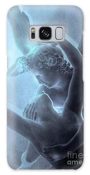 Louvre Galaxy S8 Case - Eros And Psyche Louvre Sculpture - Paris Eros And Psyche Romance Lovers  by Kathy Fornal