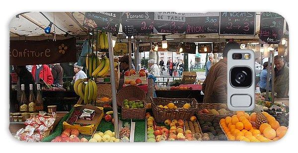 Paris Fruit Market Galaxy Case