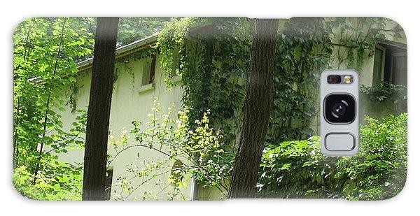 Paris - Green House Galaxy Case