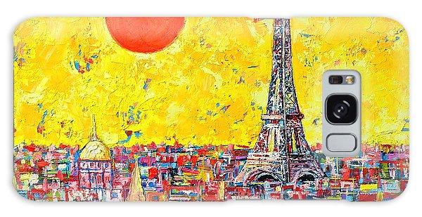Paris In Sunlight Galaxy Case