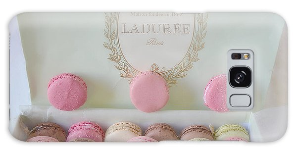 Paris Laduree Pastel Macarons - Paris Laduree Box - Paris Dreamy Pink Macarons - Laduree Macarons Galaxy Case