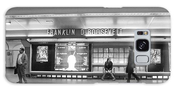 Paris Metro - Franklin Roosevelt Station Galaxy Case