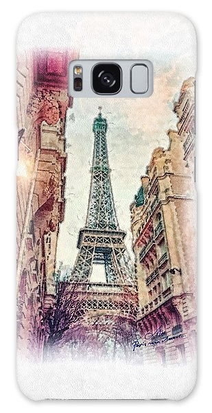 Paris Mon Amour Galaxy Case
